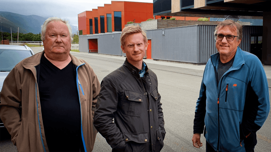 From left: EDI-Systems CTO Are Selnes, Maritech finance and business management director Raymond Haga, and EDI-Systems CEO Robert Hansen. Photo: Maritech.