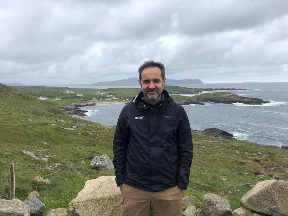 Álvaro Pérez, gerente de Licencias y Medioambiente de Mowi Chile. Foto: Mowi Chile.