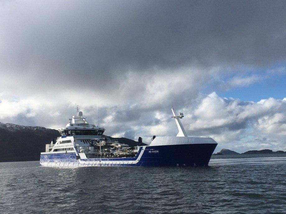 Årets Ship of The Year er MS «Ro Vision». Foto: Larsnes Mek