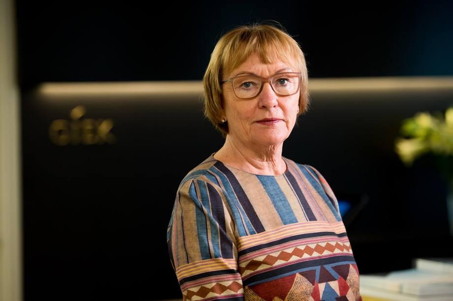 - Et sammenslått GIEK-Eksportkreditt vil gjøre våre tjenester enda mer brukervennlige og slagkraftige, sier Wenche Nistad, administrerende direktør i GIEK. Foto: GIEK