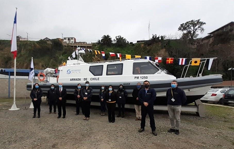 Nave fiscalizará labores acuícolas en Magallanes. Foto: Sernapesca.