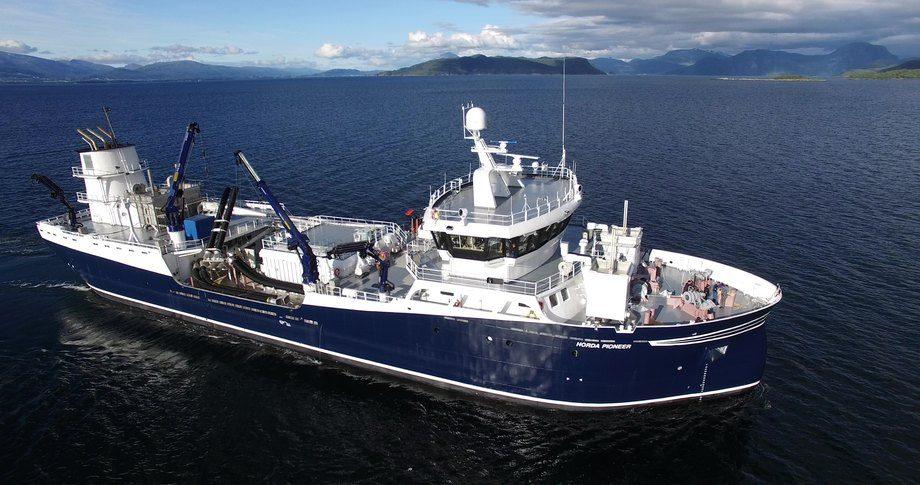«Horda Pioneer» er levert fra Aas Mek til sine nye eiere i Hordalaks. Foto: Aas Mek