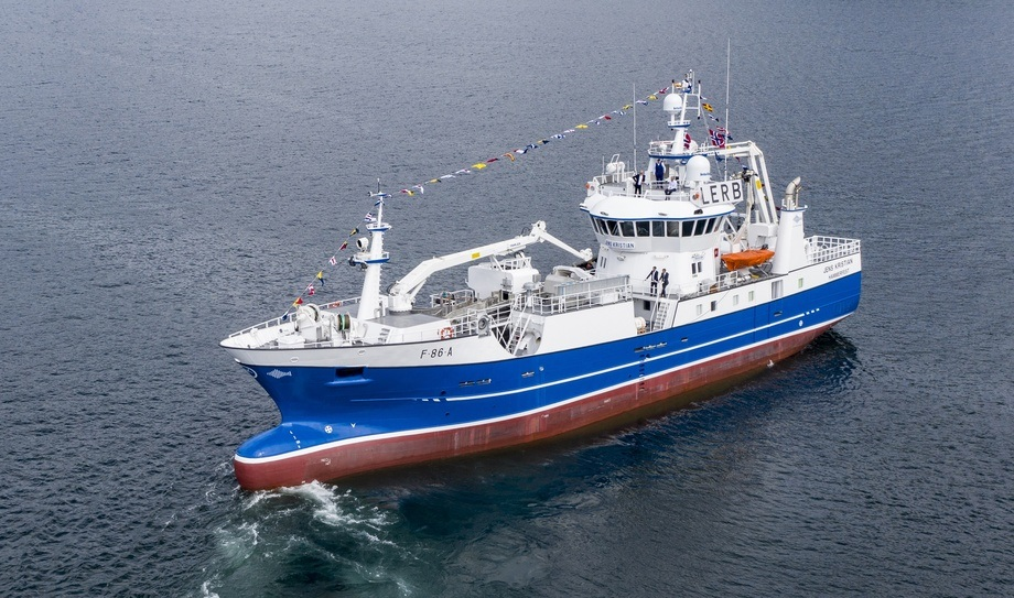 «Jens Kristian» er levert fra Stadyard til reder Sondre Kristoffersen. Foto: JK-Foto