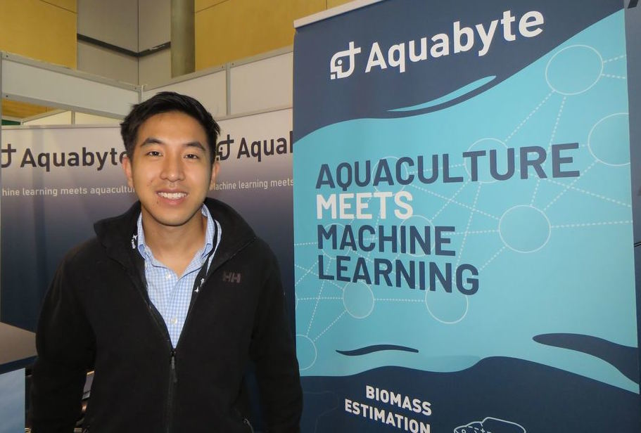 Bryton Shang, fundador de Aquabyte. Foto: Archivo Salmonexpert.