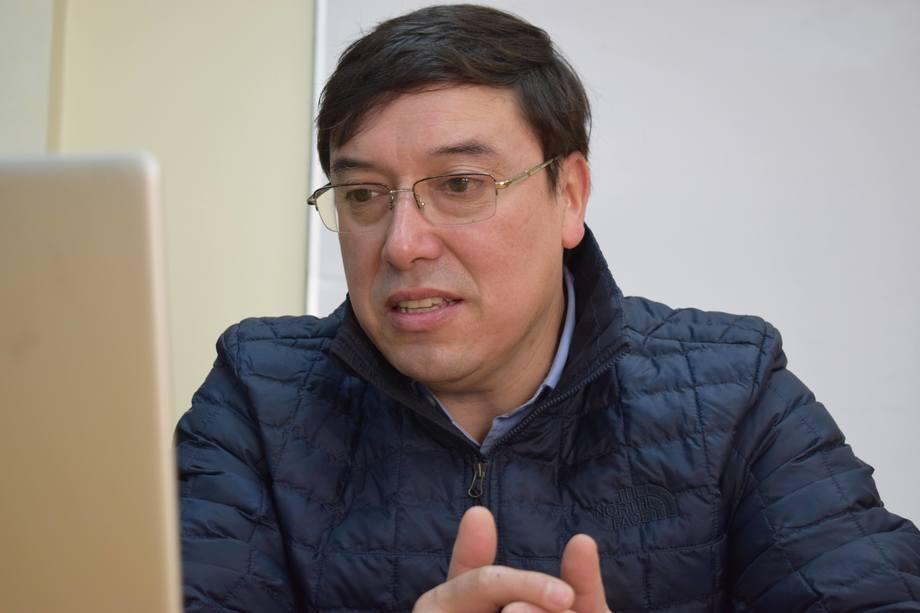 Omar Muñoz Sierra, nuevo director de Corfo Aysén. Foto: Corfo Aysén.