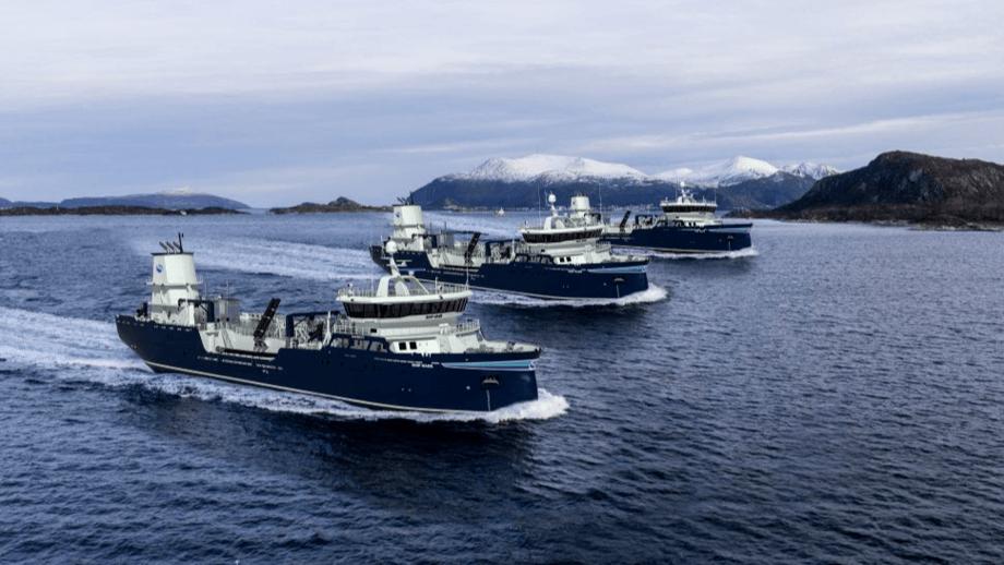 Aas Mek. Verksted entregará tres nuevos wellboats a Solvtrans en 2022. Ilustraciones: Aas Mek. Verksted.