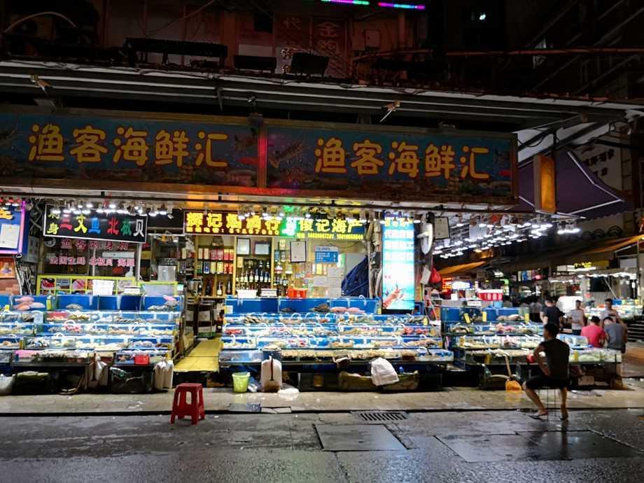 Mercado seafood de Pekín, uno de los más grandes de China. Foto: Cedida.