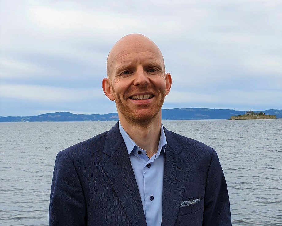 Øyvind Lauvbakk er ny CFO hos AquaGen. Foto: AquaGen.