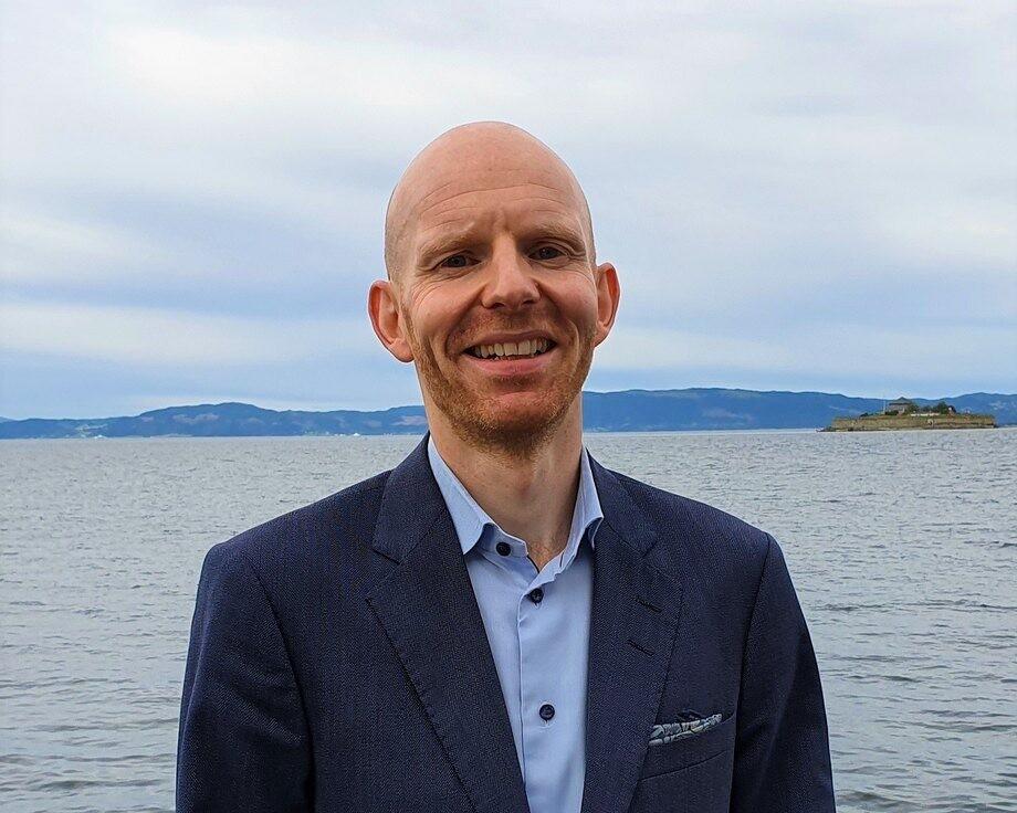 Øyvind Lauvbakk es el nuevo director financiero de AquaGen. Foto: AquaGen.