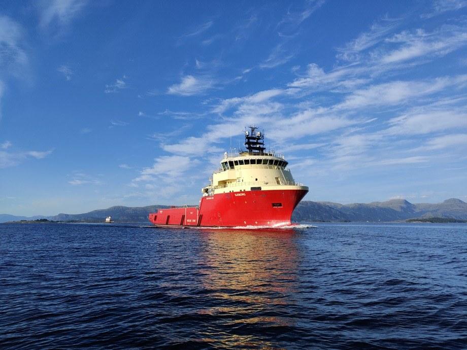 Skansi Offshore høster erfaringer med bruk av batterier om bord på MS «Sjoborg». Foto: Skansi Offshore