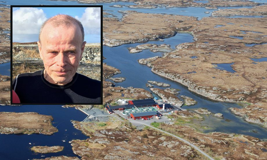 Rolf Strømme jobbet som røkter ved Nekton Settefisk sitt anlegg i Aunvågen. Foto: Nekton Havbruk.