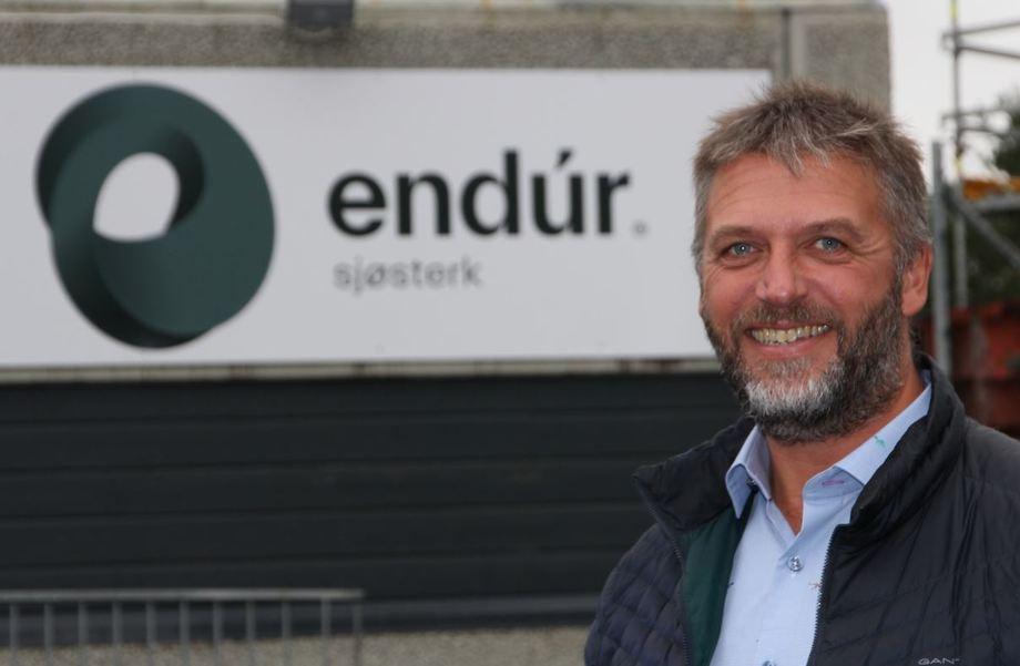 Endúr Sjøsterk AS har ansatt Mons-Ove Hauge som ny daglig leder. Foto: Endúr Sjøsterk AS.
