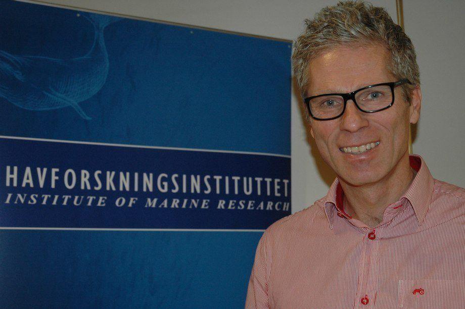 Geir Lasse Taranger, director de investigación del Instituto de Investigaciones Marinas de Noruega. Foto: Kyst.no