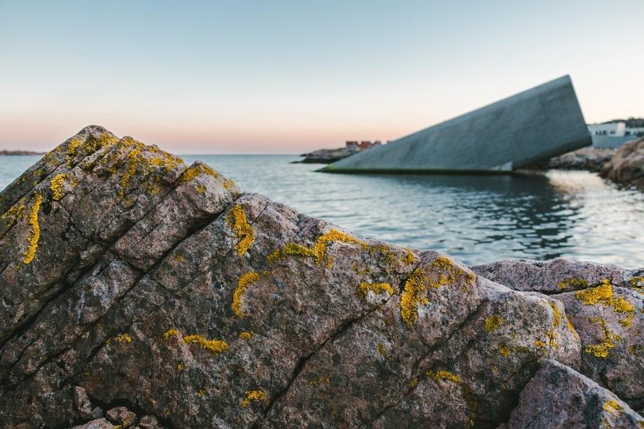 Restaurant Under på Lindesnes blir vertskap for fagsamlingen som skal se på mulighetene for en bredere utnyttelse av det å produsere og høste mat fra havet. Foto: Lister Nyskapning