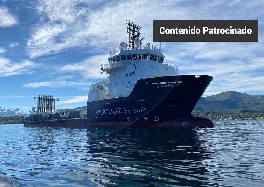 Hydro Patriot, de Mowi Noruega, es el proyecto más grande del mundo para el tratamiento mecánico de piojos de mar. Tiene ocho líneas Hydrolicer, con una capacidad de 320 ton/hora.