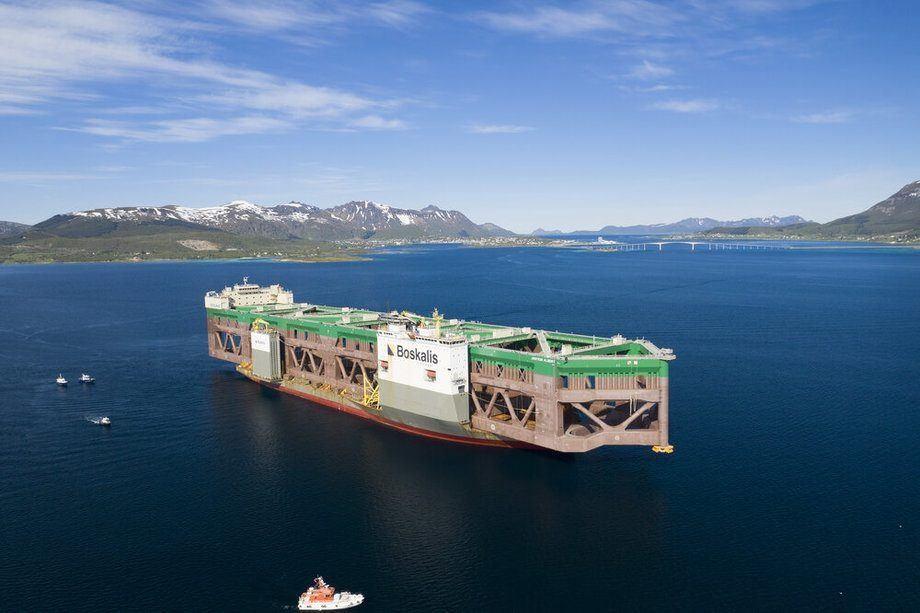Instalaciones de Havfarm en Noruega. Foto: Nordlaks.