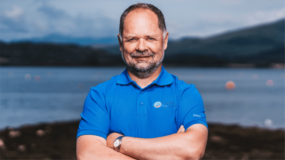 Mission accomplished: Pål Tangvik plans a return to Norway after six years in charge of SSF's freshwater operations, which included overseeing the development of the Barcaldine RAS hatchery. Photo: SSF.