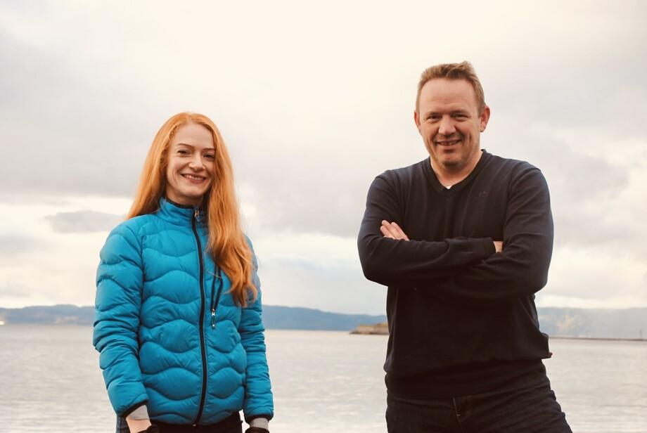 Helene Moe blir ny salgs- og utviklingssjef i Akvafresh AS. Her sammen med Anders Vinje, daglig leder i selskapet. Foto: Akvafresh
