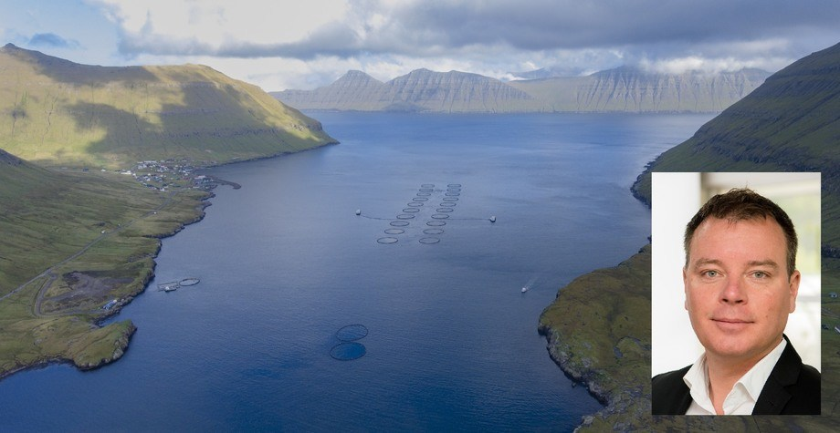 Ben Hadfield has been given charge of Mowi's salmon farming operations in the Faroes. Photos: Mowi.