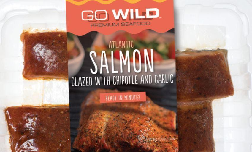 Mariner Seafood's GO WILD range includes Chilean-grown salmon.