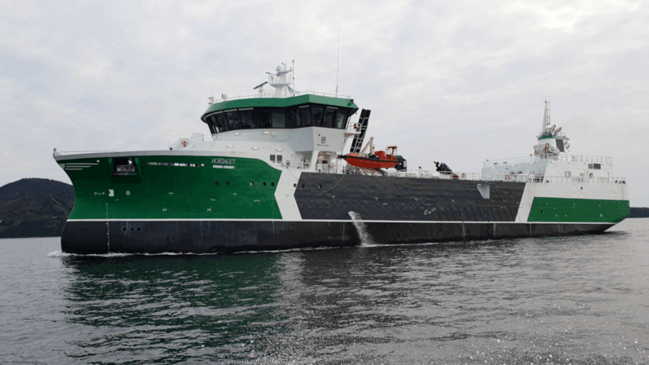 The Hordagut pictured during sea trials. Photo: FMV.
