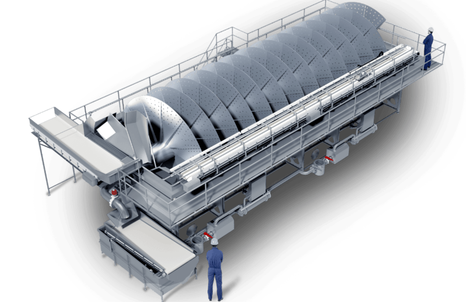 Skaginn 3X, which produces machinery such as this sub-chiller, is being bought by Baader. Image: Skaginn 3X.