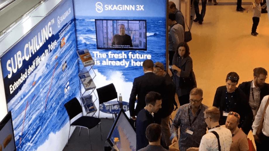 Baader kjøper aksjemajoriteten til Skaginn 3X. Illustrasjonsfoto fra AquaNor. Foto: Kyst.no