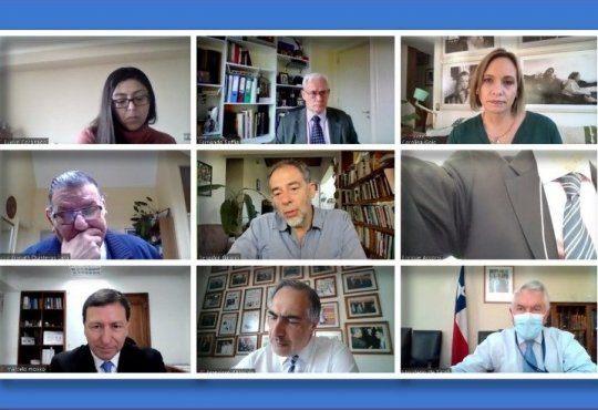 Integrantes de la Comisión de Salud del Senado. Imagen: Senado.
