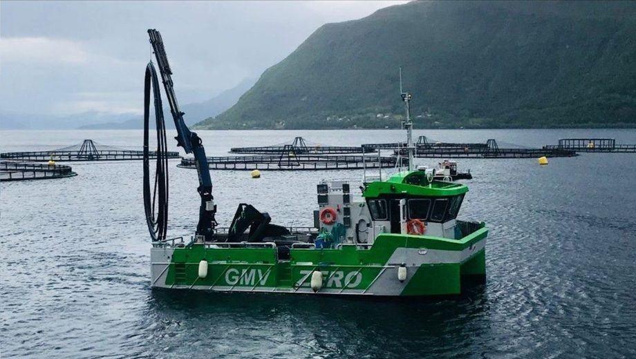 Bnr 180 tar utgangpunkt i de tekniske løsningene som ble utviklet og implementert på GMV Zero, verdens første rene batterielektriske oppdrettsfartøy. Foto: GMV.