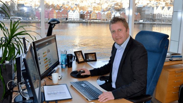 Andreas Kvame, CEO de Grieg Seafood.