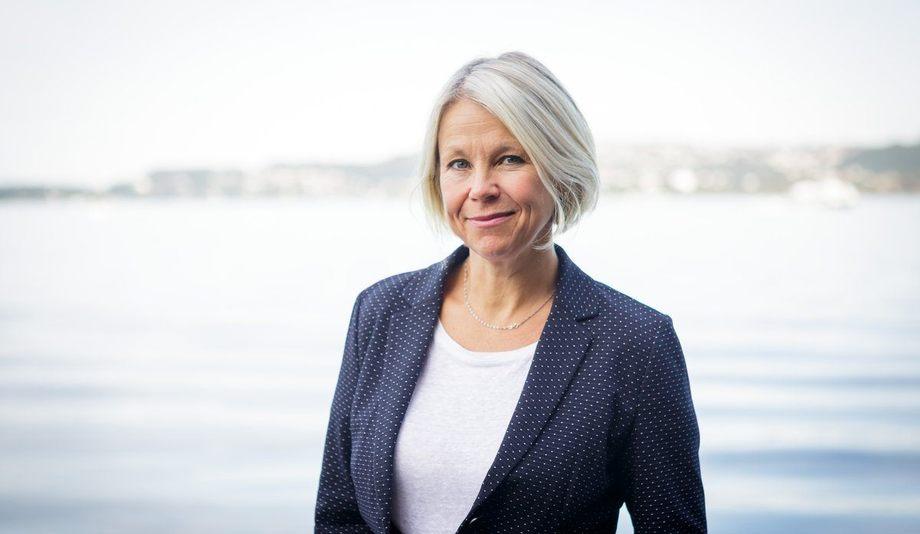 Marie Hauge seier ho er glad og stolt over å få tillit i ein organisasjon som har så tydelege mål og klare ambisjonar om å gjera ein forskjell.Fotograf: Erlend Astad Lorentzen / Havforskningsinstituttet