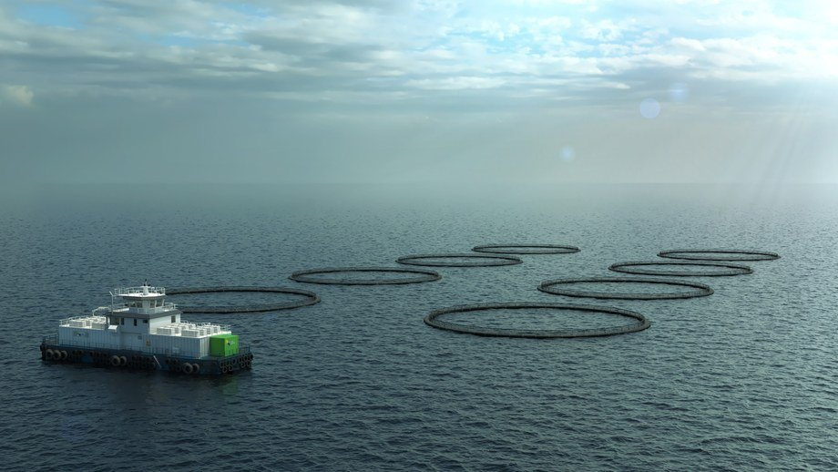 Kleiva Fiskefarm satser på grønn teknologi. Foto: Fjord Maritime