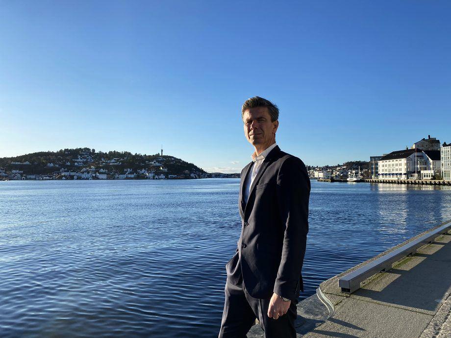 - Telenor Maritimes visjon om en grønnere fremtid for den maritime næringen har tatt et fremskritt med oppkjøpet av KNL Networks, sier administrerende direktør i Telenor Maritime, Lars Erik Lunøe.Foto: Telenor Maritime