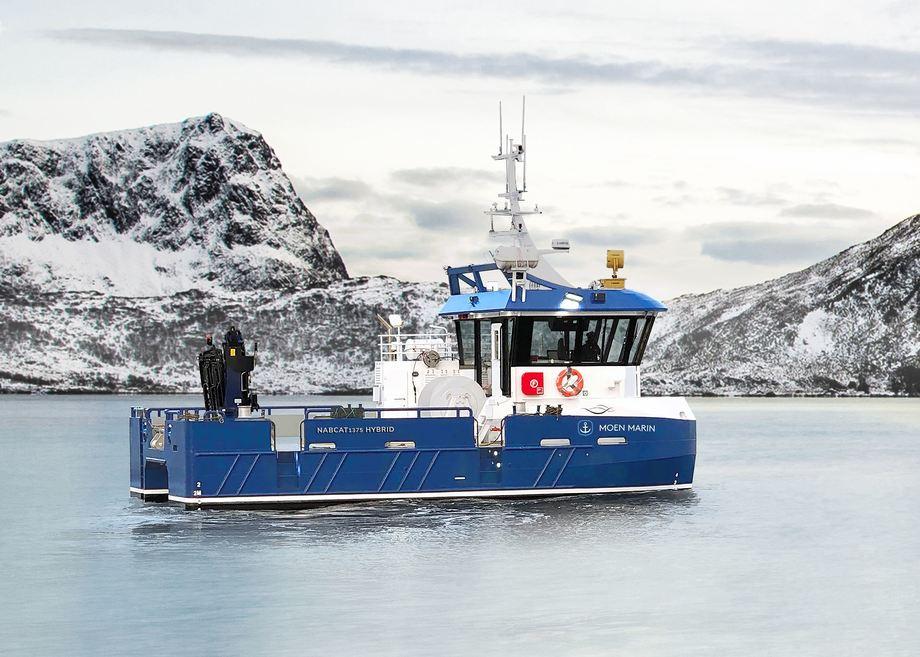 Havbruksakademie har gått til innkjøp av hybridbåten «Campus Blå». Foto: Moen Marin.