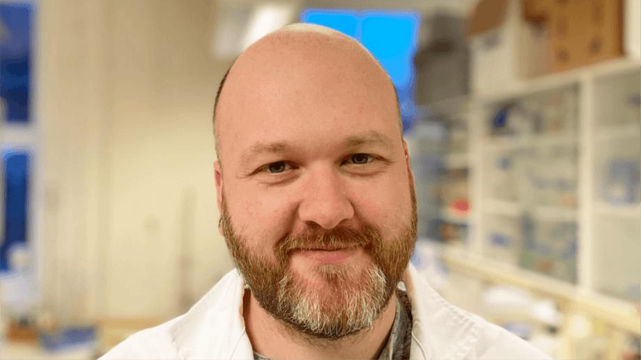 Cyril Frantzen, operasjonsleder for FoU i ACD Pharma