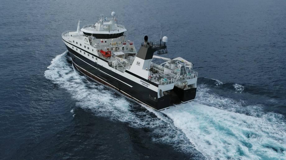 Verdens mest avanserte tråler er overlevert fra Gondan Shipbuilders til rederiet Prestfjord.  Foto:GONDAN Shipbuilders