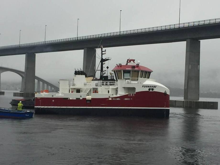 «Fosnahav» er levert fra Salthammer Båtbyggeri til Abyss Aqua. Foto: Abyss Aqua