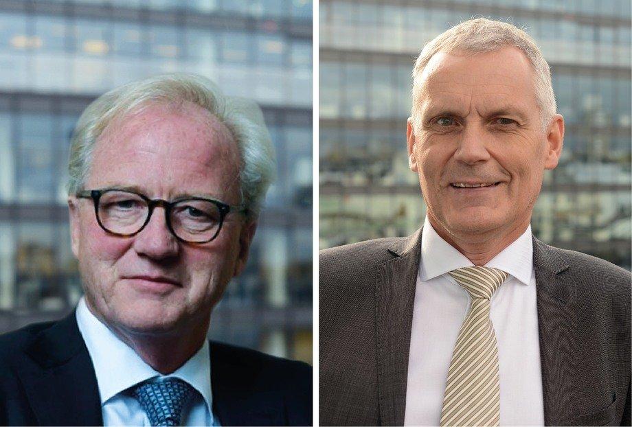 Trond Williksen, CEO de Benchmark Holdings y Jan-Emil Johannessen, director de Genética de Benchmark Holdings. Imagen: Benchmark.
