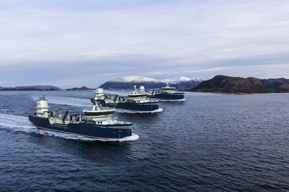 PG Flow Solutions skal levere åtte av selskapets store sjøvannssirkulasjonspumper, som sørger for kontinuerlig sjøvannssirkulasjon i båtens brønn, til hvert av de tre fartøyene til Sølvtrans. Foto: Aas Mek. Verksted.