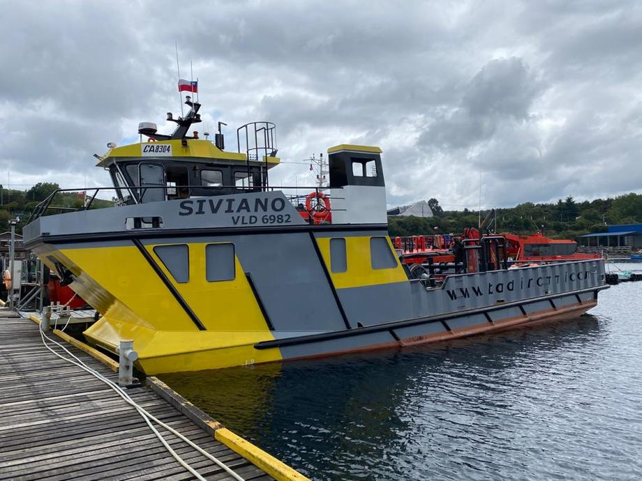 La nueva embarcación