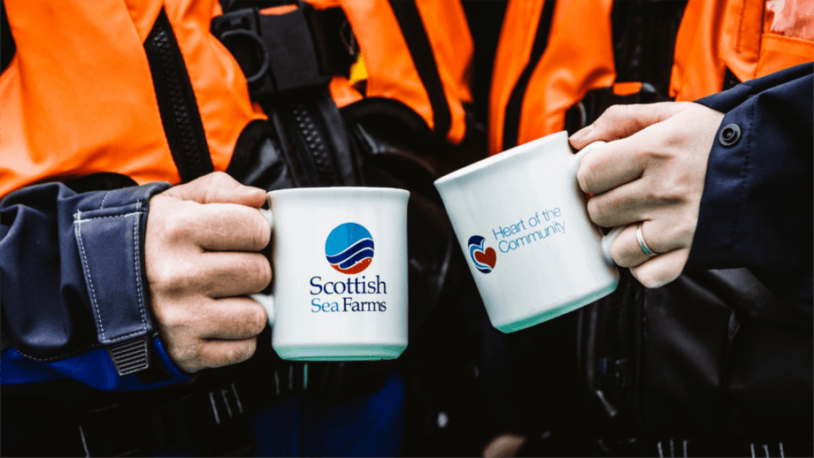Cup half full: Scottish Sea Farms made a lower profit last year than in 2019 but expects a 50% increase in volume in 2021. Photo: SSF.