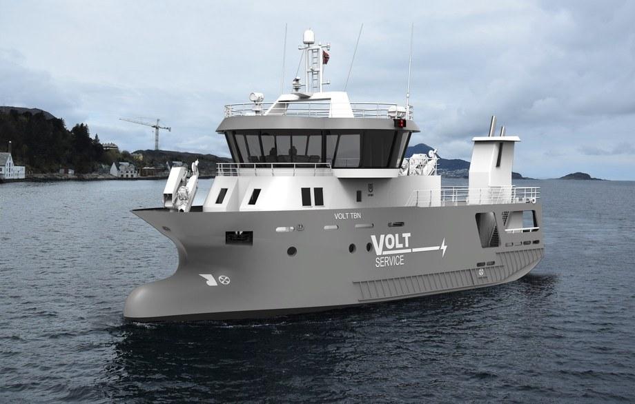 Fitjar Mekaniske Verft og Heimli har i fellesskap utviklet en hel designserie av moderne bløggebåter.Illustrasjon: FMV