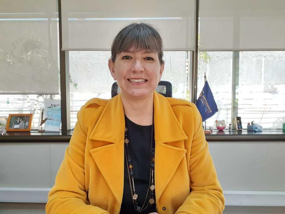 Alicia Gallardo, nueva subsecretaria de Pesca y Acuicultura. Foto: Sernapesca.