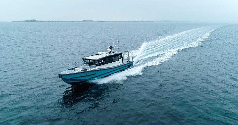 - Denne type fartøy kan lett tilpasses de aller fleste arbeidsområdene innen norsk akvakultur og andre næringer, opplyser daglig leder Kjetil Nygård i ProZero Norge AS. Foto: ProZero
