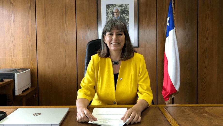 Alicia Gallardo, subsecretaria de Pesca y Acuicultura. Foto: Subpesca.