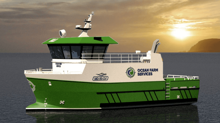 Ocean Farm Services has ordered a second newbuild from Norwegian company Skagen Ship Consulting AS.