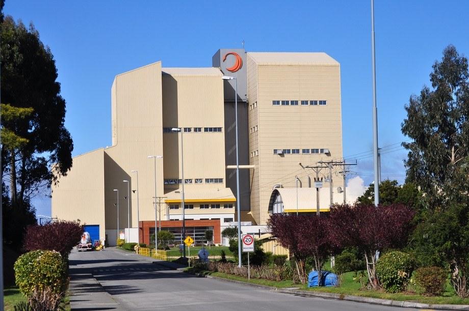 Planta de producción de alimentos ubicada en Pargua. Imagen: Skretting.