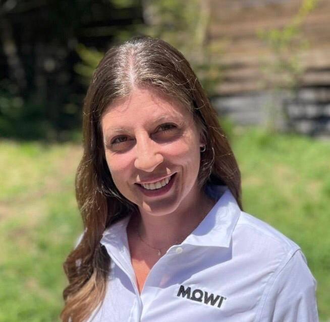 María José Rioja, nueva gerente de Recursos Humanos, Relacionamiento Comunitario & Comunicaciones de Mowi Chile. Foto: Mowi Chile.