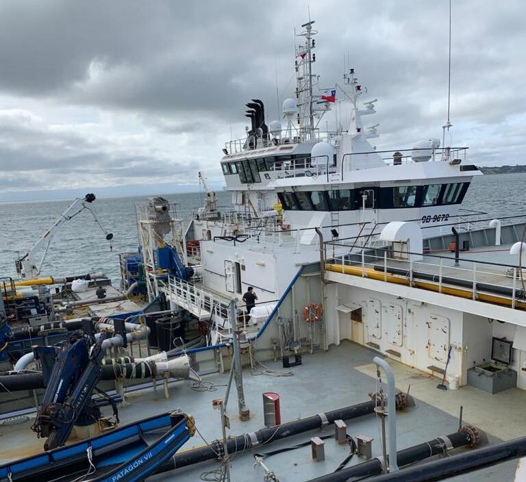 Foto: Sindicato de trabajadores de Patagonia Wellboat.