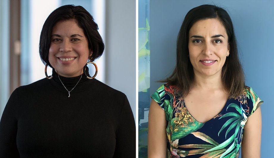 Liesbeth van der Meer y Javiera Calisto, Oceana Chile.